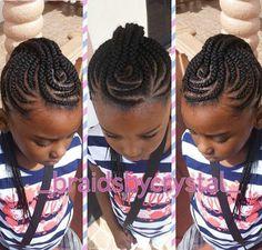 braided Mohawk for black girls