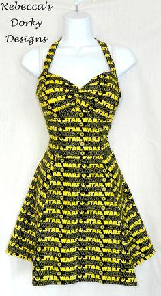 Star Wars dress by Rebecca's Dorky Designs
