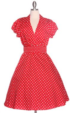 Plus Size Pin Up Dresses Polka Dot Collar Pin Up Dress