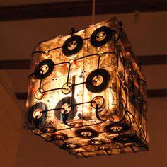 Reciclagem artesanal de fitas cassete - Arte Reciclada - Arte Reciclada