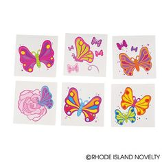 """2"""" BUTTERFLY TATTOOS"""