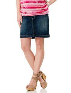 Motherhood Maternity: Secret Fit Belly(tm) Mini 5 Pocket Maternity Skirt