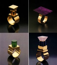 Jewelry designed by Hans Hollein. Gallery of Have you Seen This Forgotten PoMo Jewelry by 1980s Architects? - 17