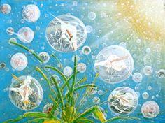 Calla bubbles