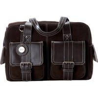Jill-E Designs Medium Camera Bag (Chocolate Brown with Brown Trim)    leather exterior & fits 2 SLR camera and 1-2 lens kit plus your personal items! LOVE!!!