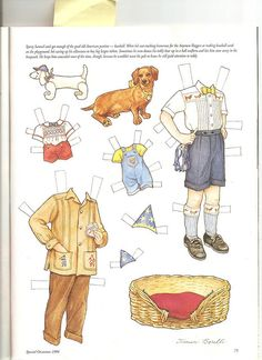 Sew Beautiful paper doll Samuel 2 by Lagniappe*Too, via Flickr