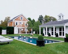 New England has a simple, yet elegant style.