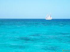 Bleu turquoise Photo Bleu, Bleu Turquoise, Sailing Ships, Favorite Color, Nautical, Heaven, Boat, Nature, Outdoor