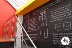 Mural historia del jean