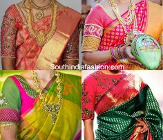 blouse designs for pattu sarees