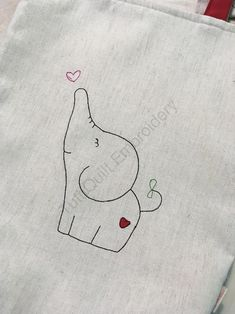 Baby Elephant Embroidery Design mug rug Embroidery pattern image 9 Hand Embroidery Flowers, Embroidery On Clothes, Baby Embroidery, Hand Embroidery Patterns, Embroidery Stitches, Machine Embroidery, Baby Applique, Embroidery Letters, Art Patterns