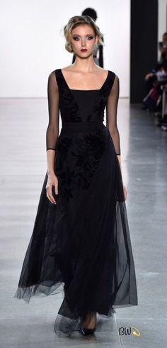 Sheer elegance. joyceannwagner · Black evening gowns 9fecc6f11032