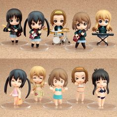 Good Smile Company - Nendoroid Petit - K-ON! - Box of 12 Trading Figure