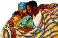 Precious Love Una representación de la oferta de la unidad familiar. Limitado a una edición de 850 S / N con las pruebas 85 del artista. Tamaño de papel: 26x19 1/2. FREE SHIPPING.