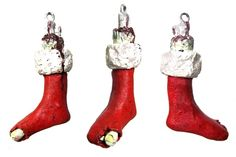 Zombie Stocking Christmas Ornament $9.95