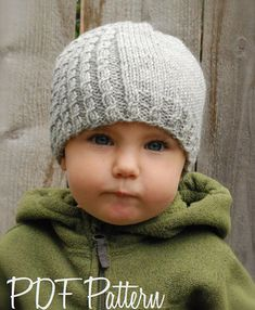 Knitting PATTERN-The Mayra Hat (Toddler, Child, Adult sizes)