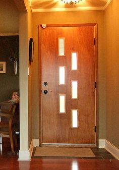 Crestview Doors - Pictures of modern front doors for mid-century modern houses 1950u0027s ranch homes retro ramblers post-war bungalows and new consu2026 & Crestview Doors - Pictures of modern front doors for mid-century ...