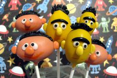 These are cake pops!