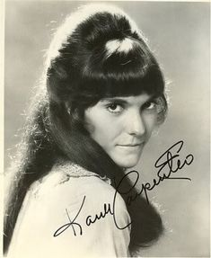 Karen Carpenter, one of the greatest voices. EVER.