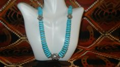 Turquoise Blue Magnesite by ShimmerandShineDesig on Etsy, $45.00 beautiful with little black dress