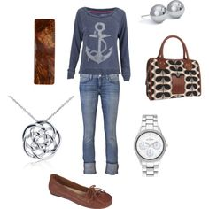 """Anchors Away"" by jossiebristow on Polyvore"