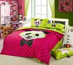 Aliexpress.com : Buy 100% cotton animal bedding sets include bulldog panda giraffe sheep puppy dog print bedding 3 size twin queen king for kids from Reliable bedding blue and brown suppliers on ALLSGROUP | Alibaba Group