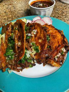 Mexican Cooking, Mexican Food Recipes, Beef Recipes, Cooking Recipes, Beef Birria Recipe, Comida Pizza, Comida Latina, Food Goals, Food Cravings