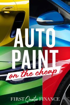 Want a cheap car paint job? Here's where to find cheap auto paint shops and how to do cheap paint jobs for cars. Either way you go, it won't cost a ton. Car Paint Jobs, Auto Paint, Auto Body Work, Auto Body Repair, Car Painting, Spray Painting, Diy Car, Car Shop, Paint Shop