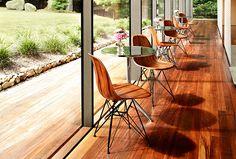 Eames Molded Wood Side Chair Sleek, sophisticated, and beautifully simple.  Herman Miller SALE