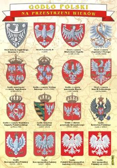 Polish Names, Poland History, Polish Language, Visit Poland, Polish Recipes, My Heritage, Historical Pictures, Logo Nasa, Coat Of Arms