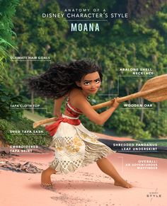 We're taking a closer look at everything that makes Moana's signature style unique.