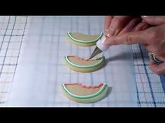 VIDEO: Cookie Decorating - How to Decorate Watermelon Cookies