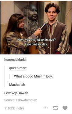 Low key dawah. Hahah Muslim humour