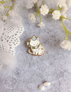 Fluffy in Hat Enamel Pins: Winter Cat — califlair Source by itspaigealena cute Winter Cat, Bag Pins, Little Presents, Hard Enamel Pin, Cool Pins, Metal Pins, Pin And Patches, Pin Badges, Cute Stickers