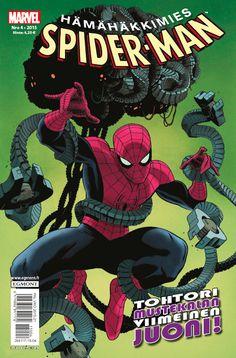 Hämähäkkimies - Spider-Man nro 4/2015. #sarjakuva #sarjakuvalehti #sarjis #egmont #marvel