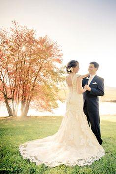 wedding at Little Washington Winery