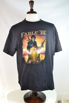 #FableIII  SS Tee t shirt size XL black #xbox 360  #videogame #gamer #microsoft for sale in my ebay store