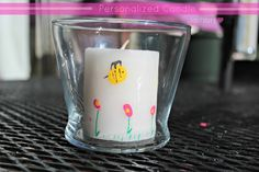 Personalized #Candle