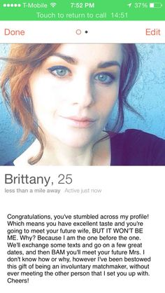 Naughty tinder bios
