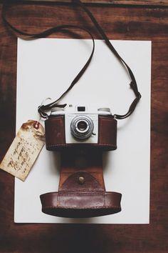 kodak pony ii + leather-case