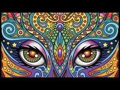 Lost Lumina 22 Timelapse Coloring Book Speed Art By Cristina McAllister