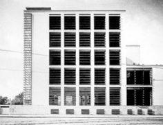 luigi moretti - casa del balilla a trastevere, roma, 1932-37