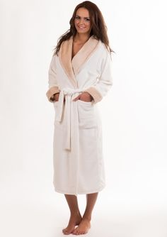 SUPERSOFT FEEL WHITE HOTEL BATHROBES DRESSING GOWN SLIPPERS HAIRWRAP 2 SIZES