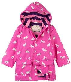 c1cfc1960 Hatley Colorchanging Unicorn Raincoat