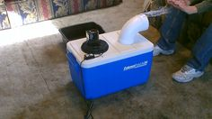 Homemade air conditioner DIY - Awesome Air Cooler! - EASY Instructions -...
