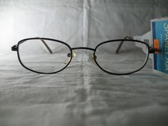 Foster Grant Spare Pair Brown Oval Reading Glasses +1.75 2.00 2.25 #FosterGrant