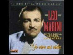"""""""Lagrimas de Hombre,"""" Leo Marini. """"El tenor con la voz que acaricia."""""""