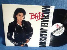RARE Vintage Michael Jackson Bad Vinyl LP Record by sweetleafvinyl