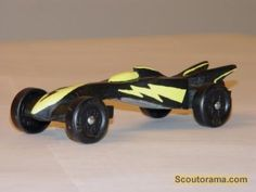 lightning bomber pinewood derby car photo contest 2009 at scoutoramacom - Pinewood Derby Car Design Ideas