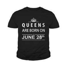 June 28 Shirts Queens are Born on June 28 T-Shirt 06/28 Birthday June 28 ladies tees Hoodie Vneck Shirt for Girl and women #gift #ideas #Popular #Everything #Videos #Shop #Animals #pets #Architecture #Art #Cars #motorcycles #Celebrities #DIY #crafts #Design #Education #Entertainment #Food #drink #Gardening #Geek #Hair #beauty #Health #fitness #History #Holidays #events #Home decor #Humor #Illustrations #posters #Kids #parenting #Men #Outdoors #Photography #Products #Quotes #Science #nature…
